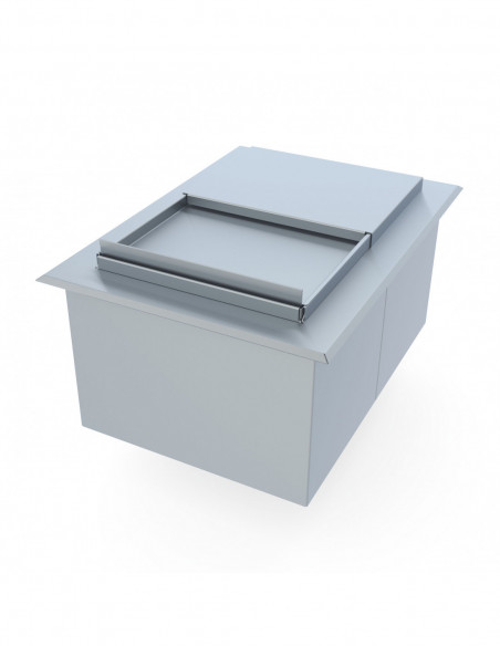 Stainless Steel Ice Bins
