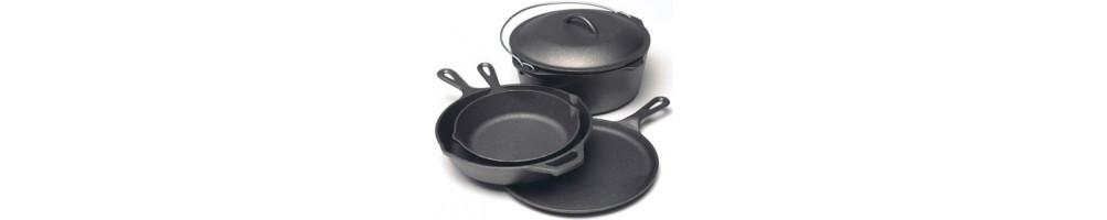أواني الطهي من الحديد الصلب
