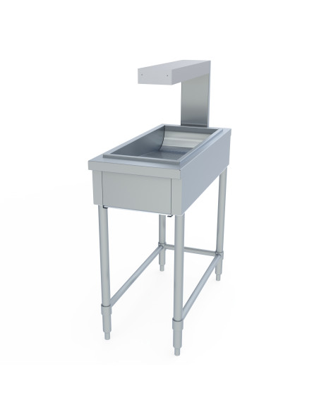 Miran SS Dump Station Small Free Standing