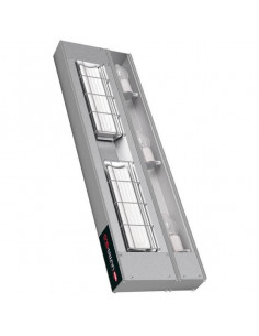 هاتكو UGAHL-36 - جهاز تسخين طعام مزود بمصابيح إضاءة