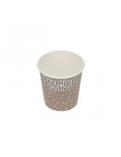 Arkan Premium coffee Single wall cups 12oz with lids