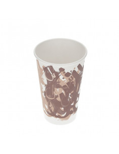 Arkan Camel Bon Single wall cups 16oz with lids