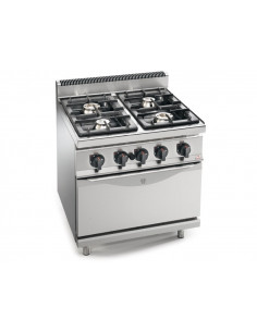 Berto's G9F4+FG 4 Burners Gas Range With Oven