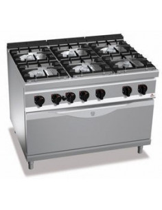 Bertos  6 Burners Gas range with Oven