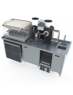 Miran SS Barista Station Medium Model