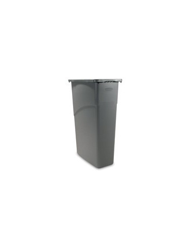 Rubbermaid FG354000GRAY Slim Jim® Containers
