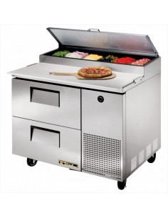 TRUE TPP-44D-2 Two Drawers PIZZA PREP REFRIGERATOR