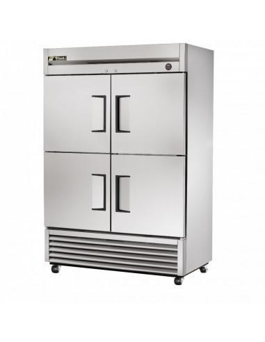 True T-49-4 Four Half Doors Reach-In Refrigerator