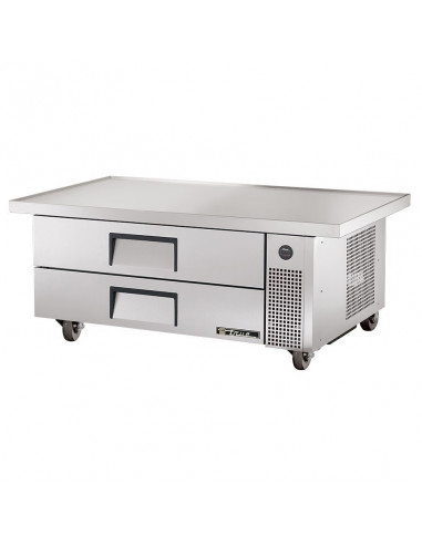 True TRCB-52-60 132cm 2Drawers Refrigerated Chef Base