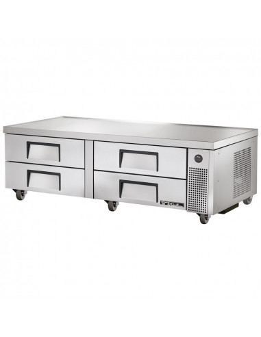 True TRCB-72 220/60/1 Four Drawer Refrigerated Chef Base