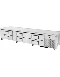 TRUE TRCB-110 SIX DRAWERS REFRIGERATED CHEF BASE