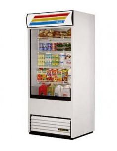 True TAC-36-LD Vertical Air Curtain Display Merchandiser