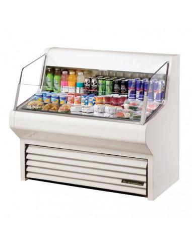 TRUE THAC-48 Horizontal Air Curtain Refrigerated Merchandiser