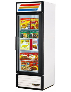 True GDM-23F White Glass Door Merchandiser