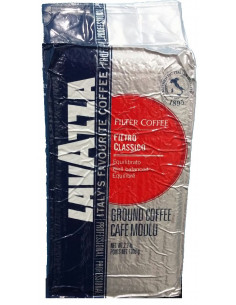 Lavazza Coffee Filtro Classico Ground, 1 kg