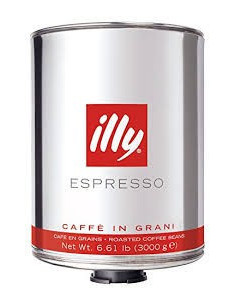 Illy Roasted Coffee Beans 3KG