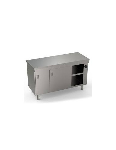 Mareno EAR716PS Heated Cupboard With Sliding Door