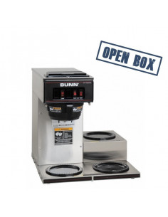 [Open Box] Bunn Vp17A-3 Low Profile Pourover Coffee Brewer With 3 Warmers