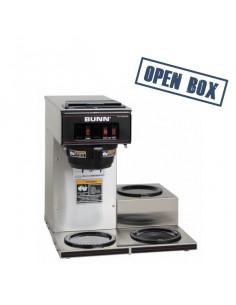 (VP17A-3) محضّرة القهوة منخفضة الارتفاع مع ثلاثة سخانات [حالة المنتج: معروض]