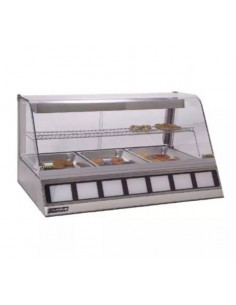 Roundup DCH-320 Full-Service Countertop Heated Display Case