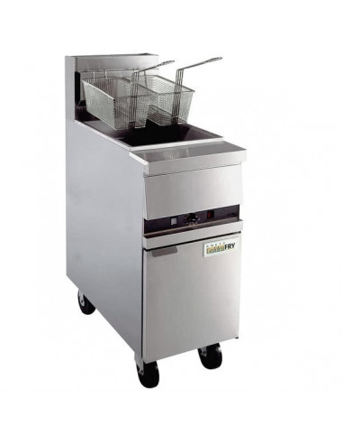 Anets MX-14E High Efficiency Gas Floor Fryer
