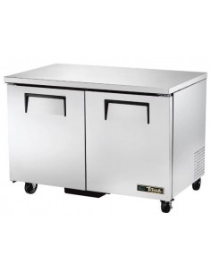 True TUC-48F Two Doors Low Profile 122cm Undercounter Freezer