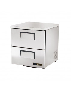 True TUC-27D-2-LP Two Drawers Low Profile Undercounter Refrigerator