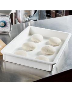 (DB18263P148) وعاء البولي بروبيلين الأبيض لتخمير عجينة البيتزا