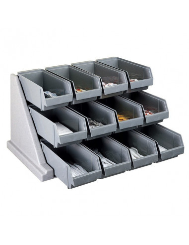Cambro  Self Serve 3-Tier Condiment Stand