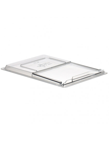 Cambro 1826SCCW135 Clear Camwear Sliding Lid for Food Storage Box