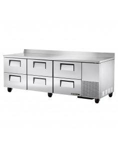 True Twt-93D-6 Deep Worktop Refrigerator