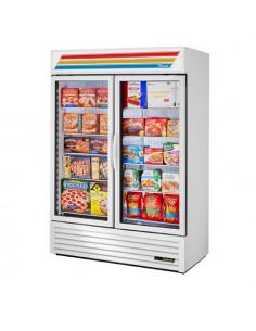 True GDM-49F-LD Glass Door Merchandiser - Swing Door Freezer