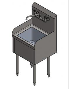 مِران - حوض تنظيف المِمْسَحَة