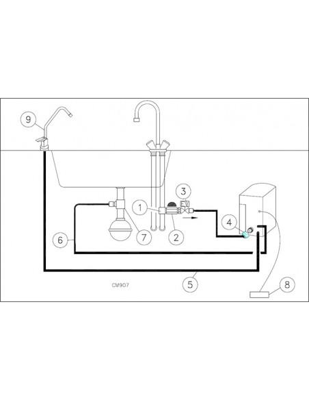 كوليجان جلوبال كابينت تي سي - جهاز تيسير الماء