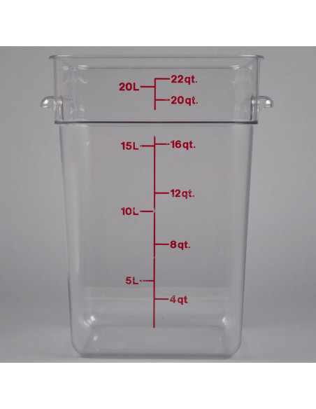Cambro Square Polycarbonate Food Storage Container
