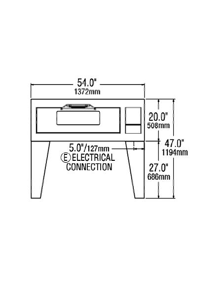 Lang DO54B Single Deck Electric Bake Oven