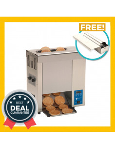 Antunes VCT-2000 Vertical Contact Toaster with Free Butter Wheel kit