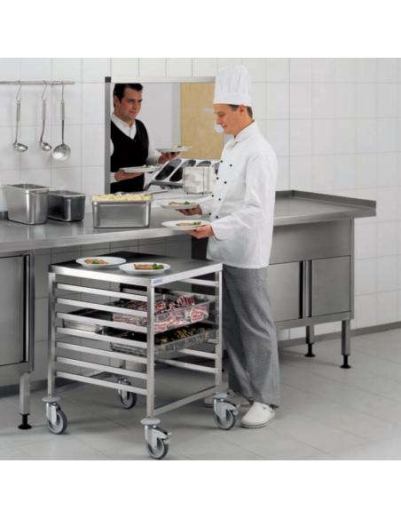 Hupfer Regalwagen RWG/AP 1/7 GN 75-L-U Gastronorm Trolleys