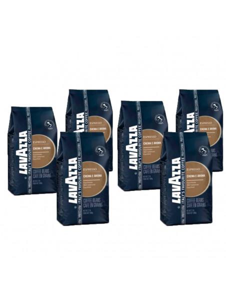 Lavazza Crema e Aroma Pack of 6 x 1 Kg