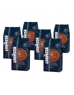 Lavazza Super Crema Whole Bean Coffee Pack 6x1 Kg