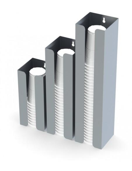 موزع الكاسات الفولاذي من ميران- بحجم كبير