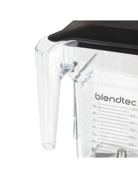 Blendtec Clear Small Blade Soft Lid FourSide Jar