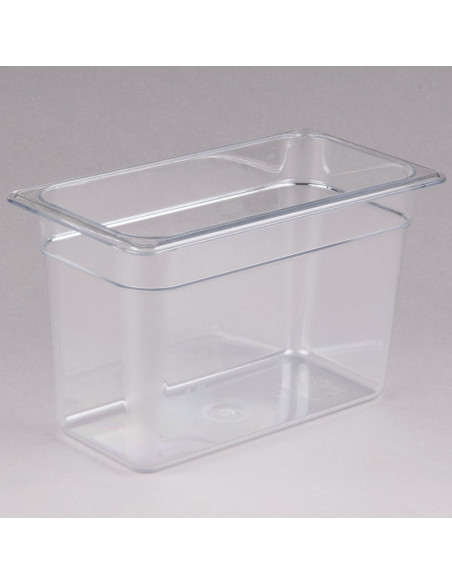 Cambro 38CW135 Camwear 1/3 Size Clear Food Pan
