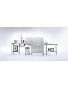 غسالة أطباق تجارية بسير متحرك لحامل الأطباق (STR-208) من وينترهالتر