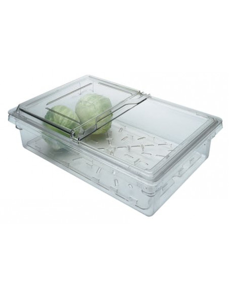 "Cambro 1826SCCW135 Clear Camwear 18"" x 26"" Sliding Lid for Food"