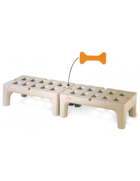Metro HP2236PD Bow Tie Dunnage Rack