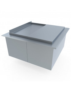 Miran Stainless Steel Drop-in Ice Bin