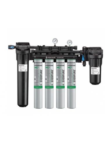 Everpure EV943710 High Flow Quad Filtration System