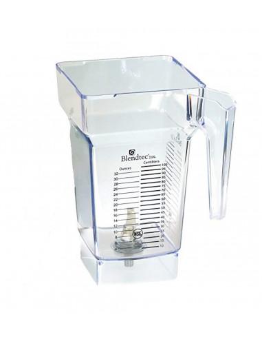 Blendtec J2 Four Side Jar (Without Lid)