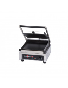 """Krampouz GECID3CO Smooth top/ Smooth bottom Panini Grill 10"""""""